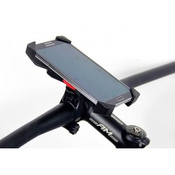 Support Guidon Vélo Pour Wiko Lenny 3 Max (2017)