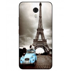 Durable Paris Eiffel Tower Cover For Gionee A1