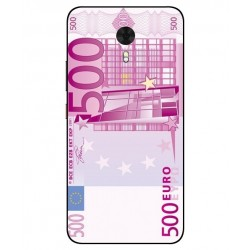 Durable 500 Euro Note Cover For Gionee A1