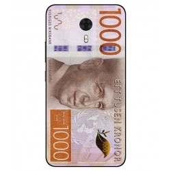 Durable 1000Kr Sweden Note Cover For Gionee A1