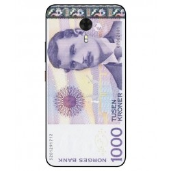 1000 Norwegian Kroner Note Cover For Gionee A1