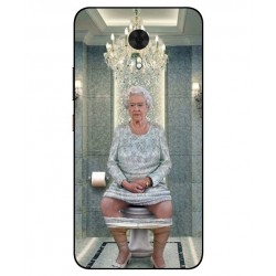 Durable Queen Elizabeth On The Toilet Cover For Gionee A1