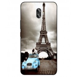 Durable Paris Eiffel Tower Cover For Gionee A1 Plus