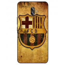 Durable FC Barcelona Cover For Gionee A1 Plus