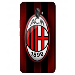 Durable AC Milan Cover For Gionee A1 Plus