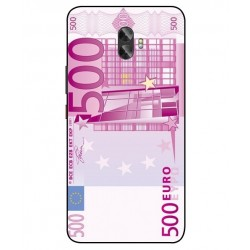 Durable 500 Euro Note Cover For Gionee A1 Plus
