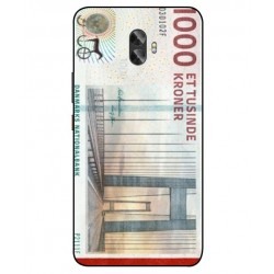 1000 Danish Kroner Note Cover For Gionee A1 Plus