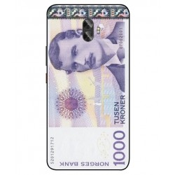 1000 Norwegian Kroner Note Cover For Gionee A1 Plus