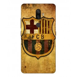 Durable FC Barcelona Cover For Lenovo K8 Plus