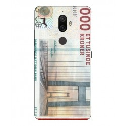 1000 Danish Kroner Note Cover For Lenovo K8 Plus