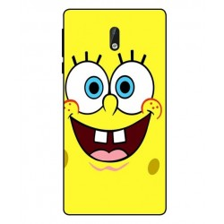 Durable SpongeBob Cover For Nokia 3