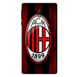 Durable AC Milan Cover For Nokia 3