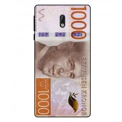 Durable 1000Kr Sweden Note Cover For Nokia 3