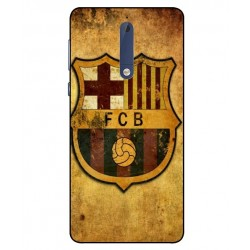 Durable FC Barcelona Cover For Nokia 5