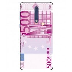Durable 500 Euro Note Cover For Nokia 5