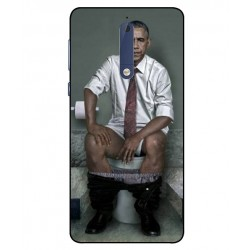 Durable Obama On The Toilet Cover For Nokia 5
