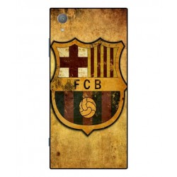 Durable FC Barcelona Cover For Sony Xperia XA1 Plus