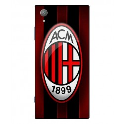 Durable AC Milan Cover For Sony Xperia XA1 Plus