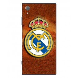 Durable Real Madrid Cover For Sony Xperia XA1 Plus