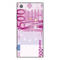Durable 500 Euro Note Cover For Sony Xperia XA1 Plus