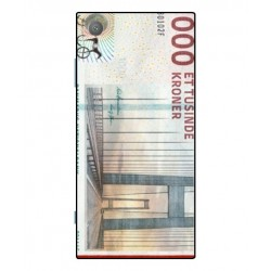 1000 Danish Kroner Note Cover For Sony Xperia XA1 Plus