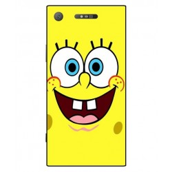 Durable SpongeBob Cover For Sony Xperia XZ1