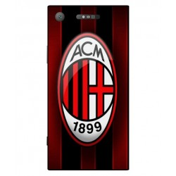 Durable AC Milan Cover For Sony Xperia XZ1