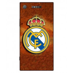 Durable Real Madrid Cover For Sony Xperia XZ1