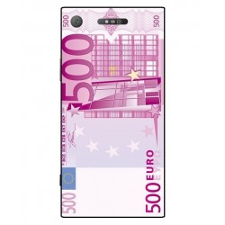 Durable 500 Euro Note Cover For Sony Xperia XZ1