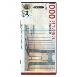 1000 Danish Kroner Note Cover For Sony Xperia XZ1