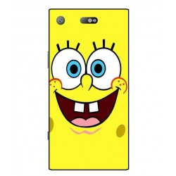 Durable SpongeBob Cover For Sony Xperia XZ1 Compact