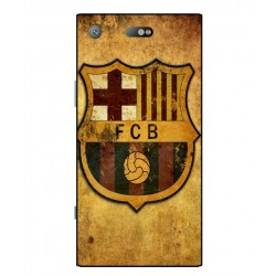 Durable FC Barcelona Cover For Sony Xperia XZ1 Compact