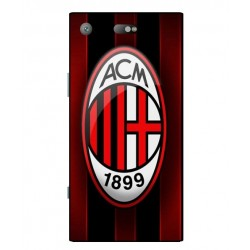 Durable AC Milan Cover For Sony Xperia XZ1 Compact