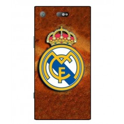 Durable Real Madrid Cover For Sony Xperia XZ1 Compact