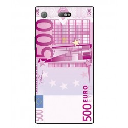 Durable 500 Euro Note Cover For Sony Xperia XZ1 Compact