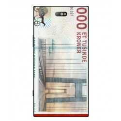 1000 Danish Kroner Note Cover For Sony Xperia XZ1 Compact