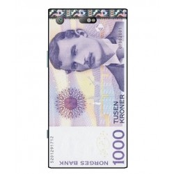 1000 Norwegian Kroner Note Cover For Sony Xperia XZ1 Compact