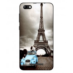 Durable Paris Eiffel Tower Cover For Wiko Jerry Max