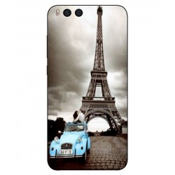Durable Paris Eiffel Tower Cover For Xiaomi Mi Note 3