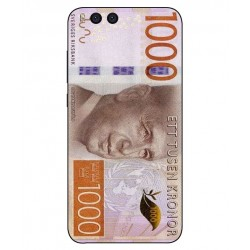 Durable 1000Kr Sweden Note Cover For Xiaomi Mi Note 3