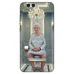 Durable Queen Elizabeth On The Toilet Cover For Xiaomi Mi Note 3