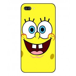 Durable SpongeBob Cover For Asus Zenfone 4 Max Plus ZC554KL
