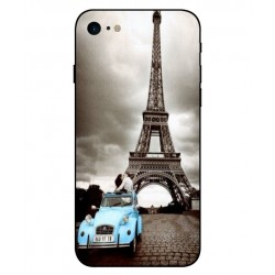 Durable Paris Eiffel Tower Cover For iPhone 8