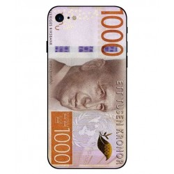 Cubierta Billete De 1000 Corona Sueca Para iPhone 8