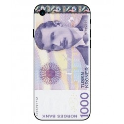 1000 Norwegian Kroner Note Cover For iPhone 8