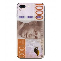 Durable 1000Kr Sweden Note Cover For iPhone 8 Plus