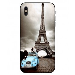 Durable Paris Eiffel Tower Cover For iPhone X