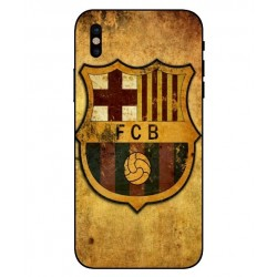 Durable FC Barcelona Cover For iPhone X