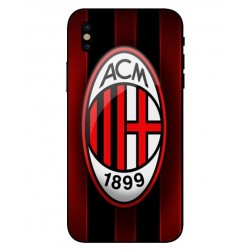 Durable AC Milan Cover For iPhone X