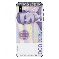 1000 Norwegian Kroner Note Cover For iPhone X
